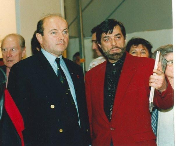 Jacques Toubon, Maire du 13e et Gilou