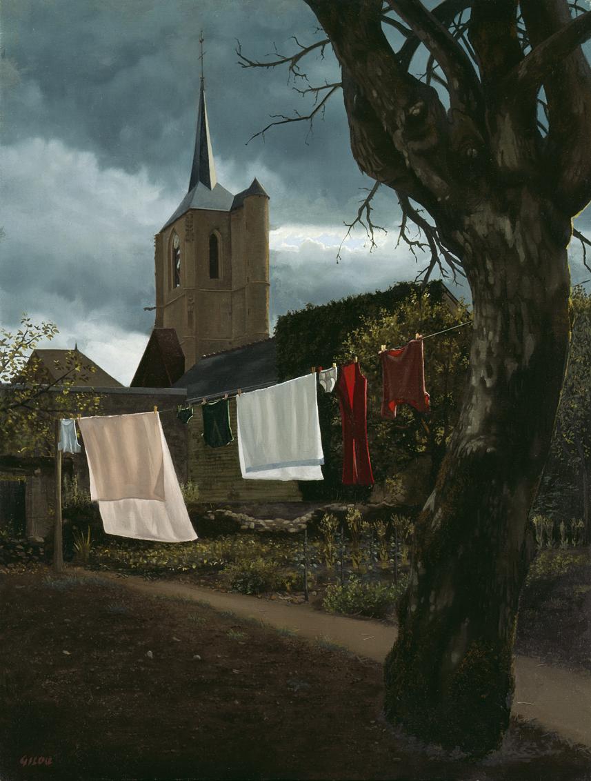 Gilou, Eglise de Moulins-Engilbert