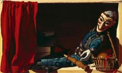 Marionnette au bilboquet