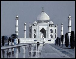 Le Taj Mahal, India.