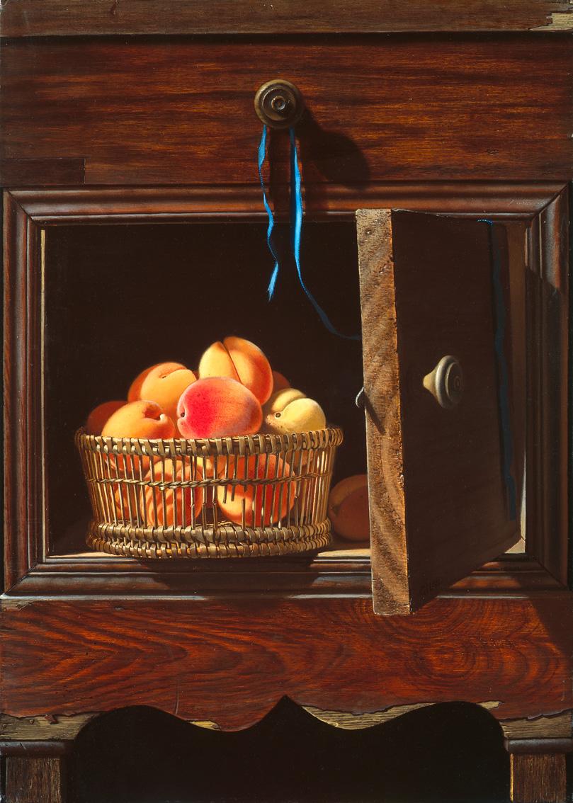 Placard aux abricots
