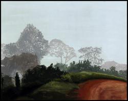 Chemin dans la brume, Path in the fo