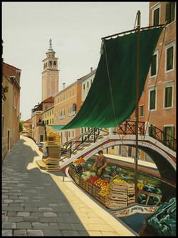 Barque à Venise, Boat in Venezia,