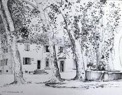 Gilou, Place de Villeneuvette
