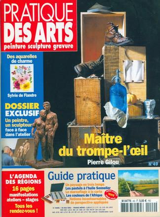 Pratique des arts couverture Mars 2003.j