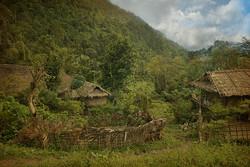 Magic ambiance. Village de Wangla.