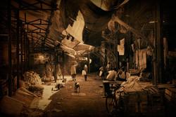 Marché à Mumbai - Joël Cadiou