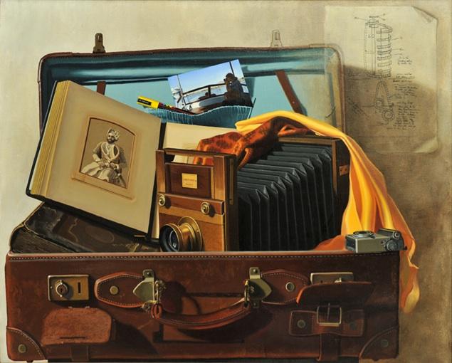 -h_t,Le troisième oeil,,The third eye, o_c, 81 x 100 cm
