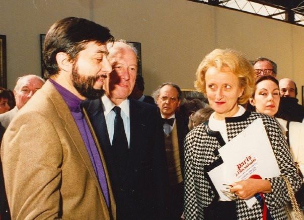 Gilou et Mme Chirac