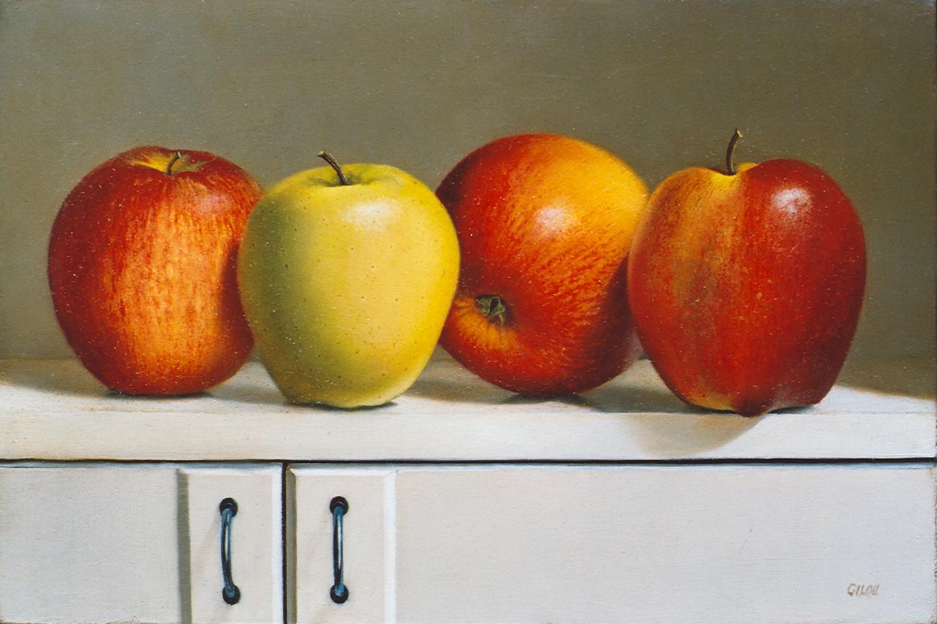Gilou, Les pommes
