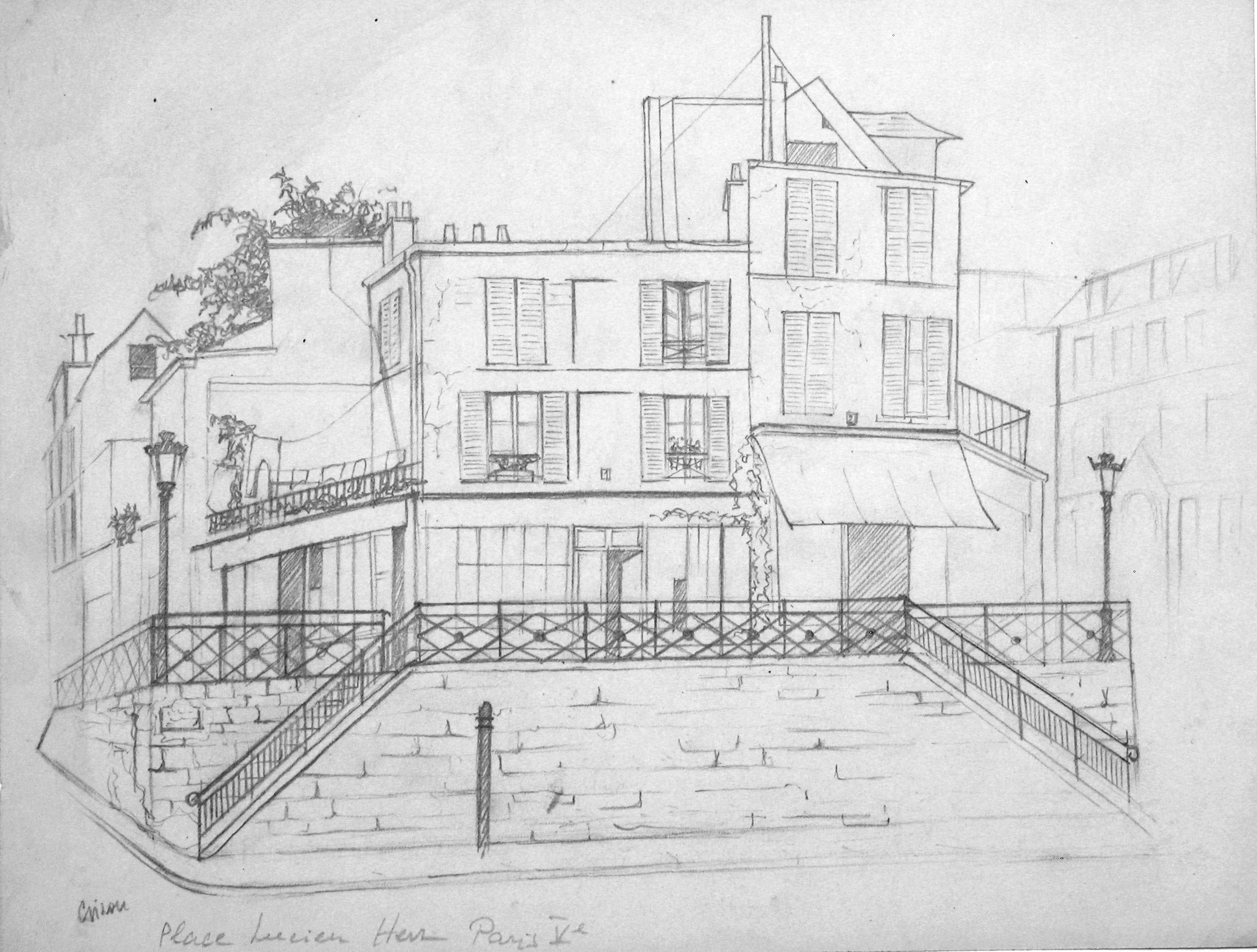 Gilou, Place Lucien Herr Paris