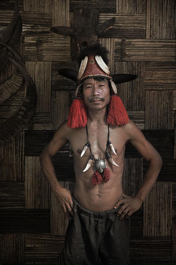 Koniak from Mon village