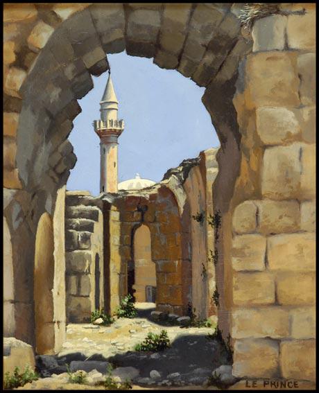 L'église et la mosquée.