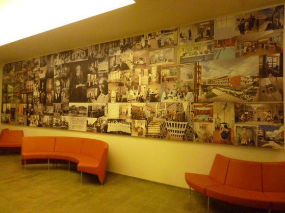 Inauguration-Hopital-Rothschild - Fresque photographique