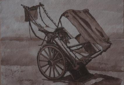 La charette. The cart.