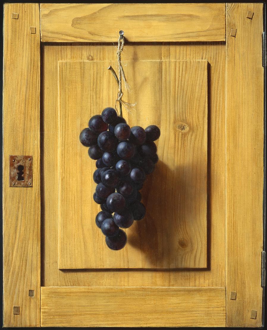 Porte à la grappe de raisin