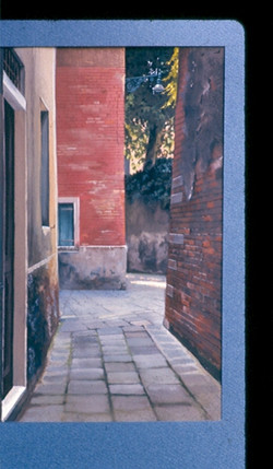 Venise jardins secrets (gouache