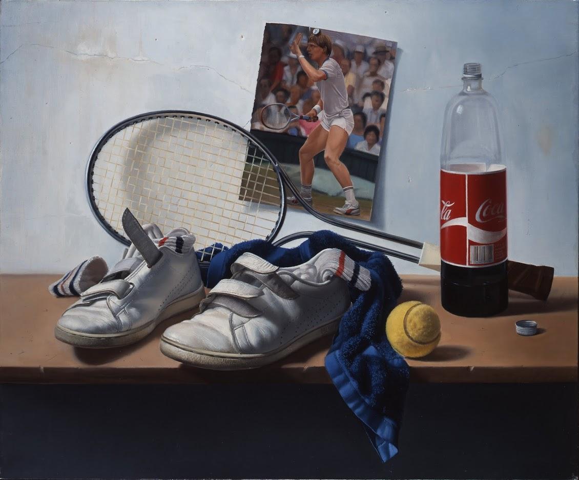 Gilou, Tennis