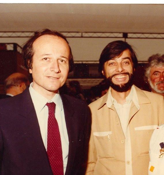 Roger-Gérard Schwartzenberg et Gilou