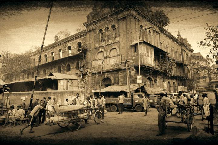 Kolkata center - Joël Cadiou