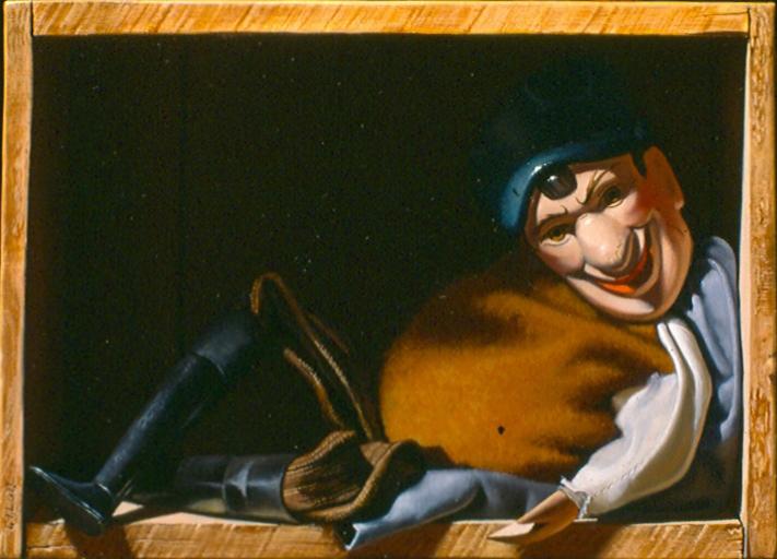 Marionnette couchée