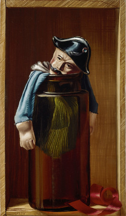 Marionnette au bocal