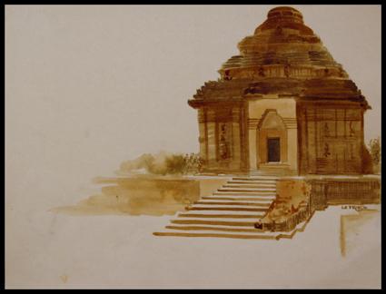 Temple de Konarak.