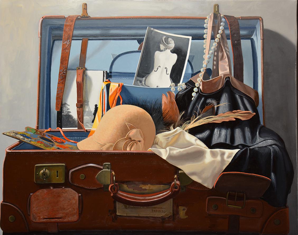 -h_t,Les belles heures de Montparnasse,, Beautiful hours in Montparnasse,73 x 92 cm  copie 2