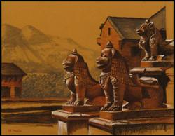 Les gardiens du temple.