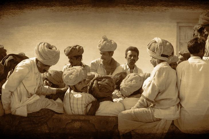 Hommes au turban - Joël Cadiou