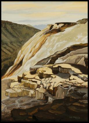 Cascade calcaire, calcareous waterfall,