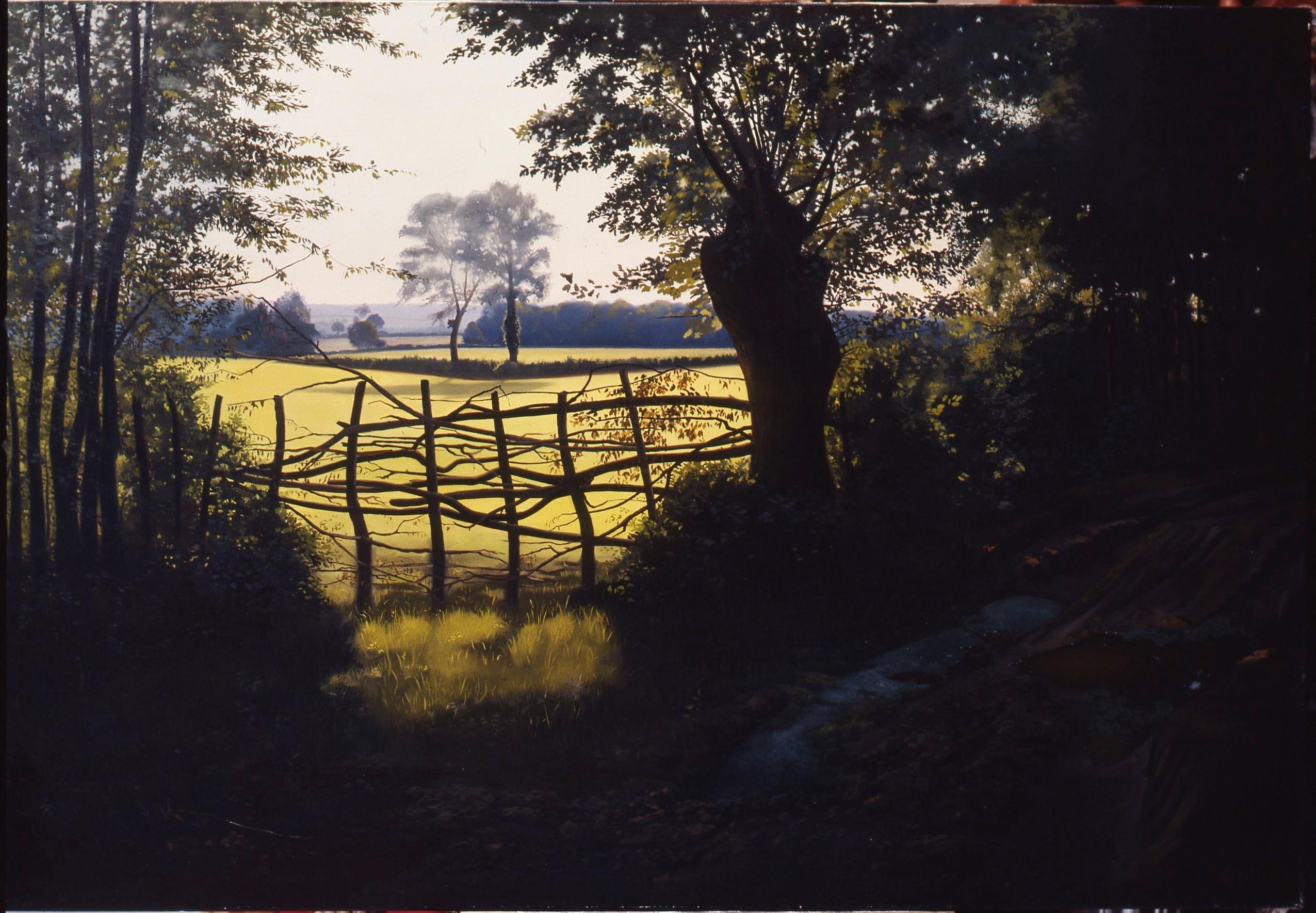 Gilou, Chemin aux ornières 1975 - 89x130