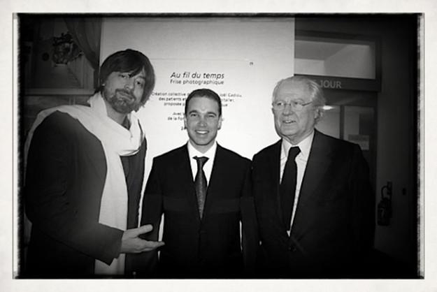 Éric de Rothschild, Mathias Bloch et Joël Cadiou