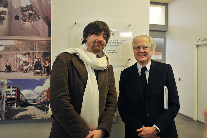 Inauguration-Hopital-Rothschild avec Mr  Éric de Rothschild