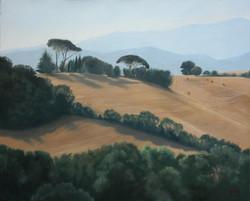 Gilou, Matin en Toscane