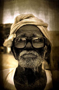 Portrait indien - Joël Cadiou