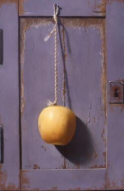 Pomme suspendue