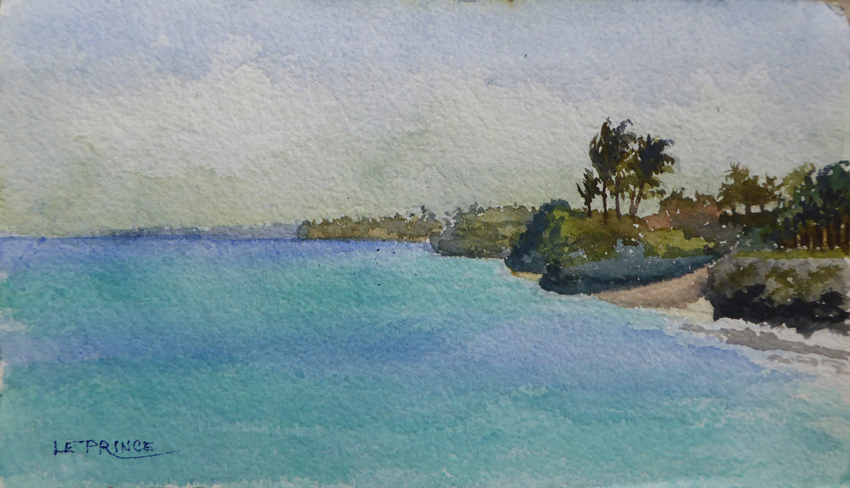 Lagon à Zanzibar, Zanzibar lagon.