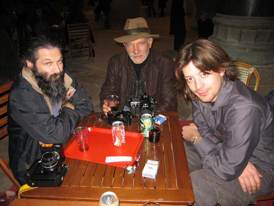 Art en capital Vernissage. Groupe Néobjectif avec Francis Robeyns, Christian Rivière & Joël Cadiou