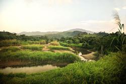 Rivère près de Langwa