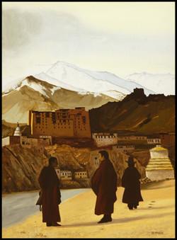 Rencontre, meeting, Ladakh