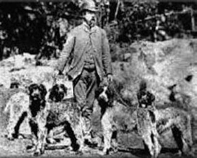 eduard-k-korthals-with-his-griffons-in-1