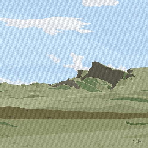 Isle of Skye Mountain