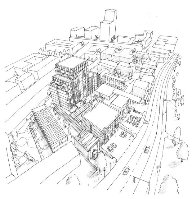 High Rise Development, Brixton