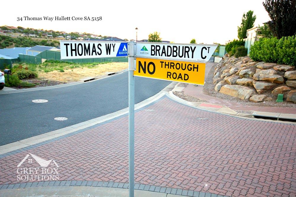 2 Street Sign