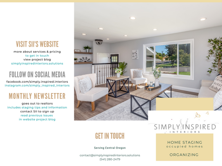NEW! Benefits of Staging & Services Brochure