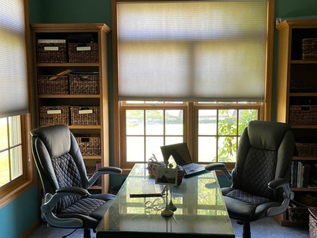Designated Office Space ~ Combined 2 Rooms into 1 !!!