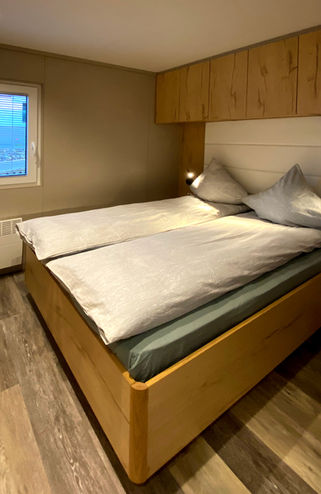 Rummeligt soveværelse