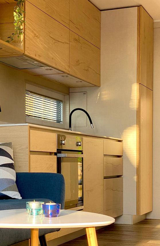 Alt hvad det moderne køkken kræver findes i MarinaVilla