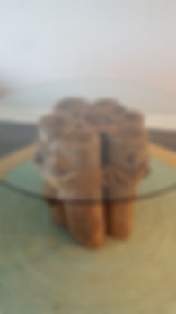 Michael Black Pecky Cypress DR Table , 4